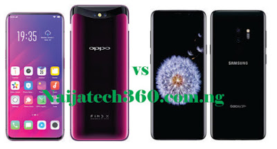 Oppo Find X vs Samsung Galaxy S9 Plus 34