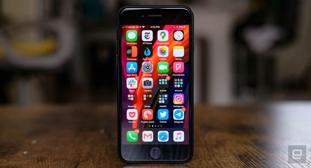 iPhone SE Display Review