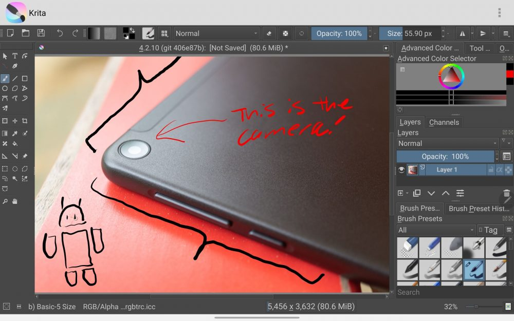 Krita, a desktop-based digital painting app, now available on Android and Chrome OS 44